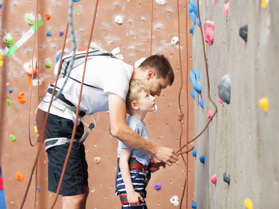 Coaching privé d'Escalade avec un grimpeur pro au CNIT