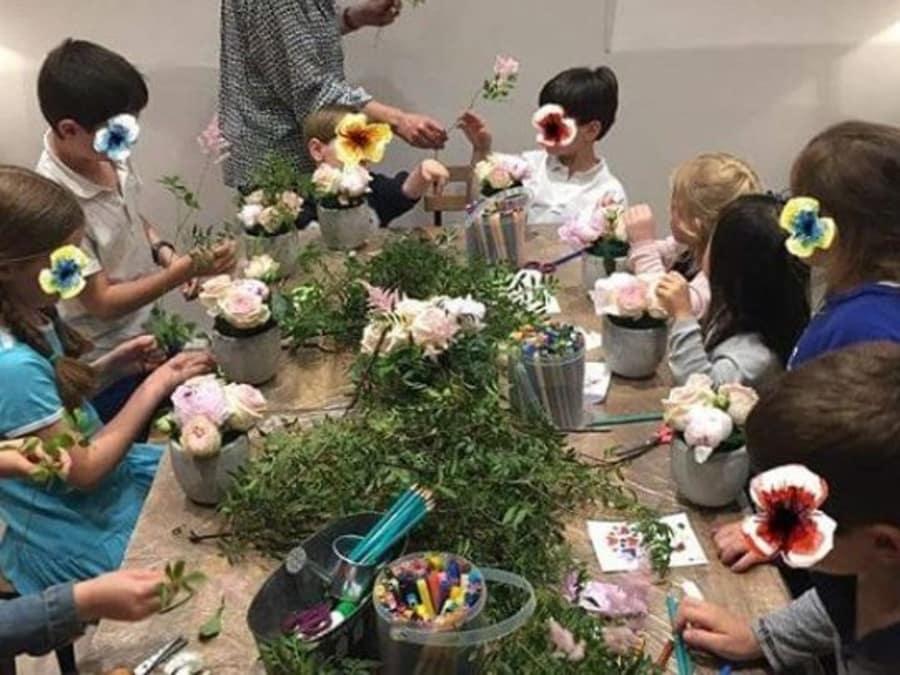 Anniversaire Compositions Florales 5-9 ans à Paris 7ème