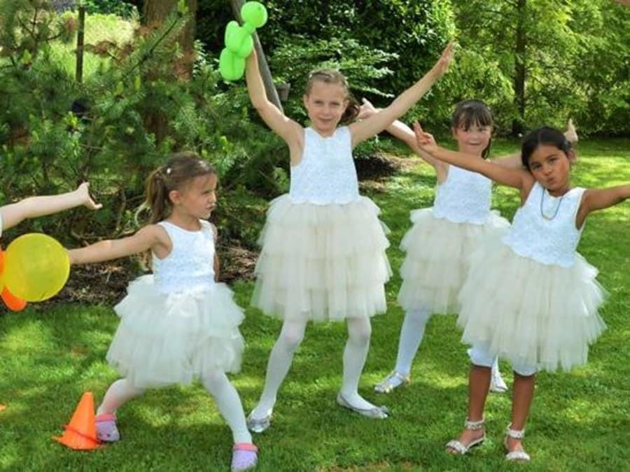 Anniversaire Princesses & Contes de Fées 3-12 ans à domicile