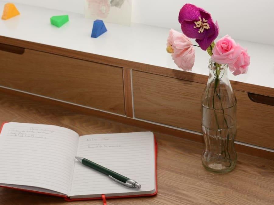 Anniversaire Initiation aux Fleurs en papier 8-14 ans à domicile