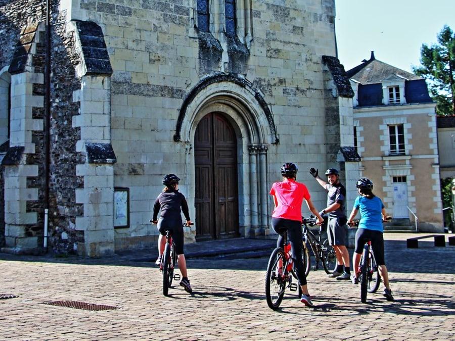 Escapade à VTT en campagne au départ d'Angers