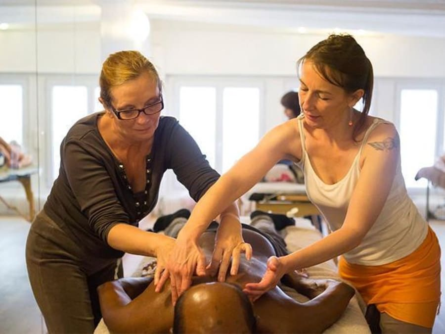 Apprentissage massages à Paris 20e