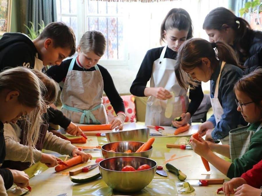 Stage vacances Education culinaire 7-14 ans à Paris 10ème