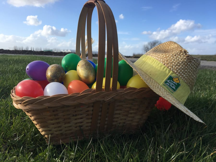 La grande chasse aux œufs de la cueillette de Cergy!