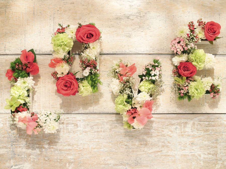 Atelier mes lettres fleuries, Truffaut Plaisir (78)