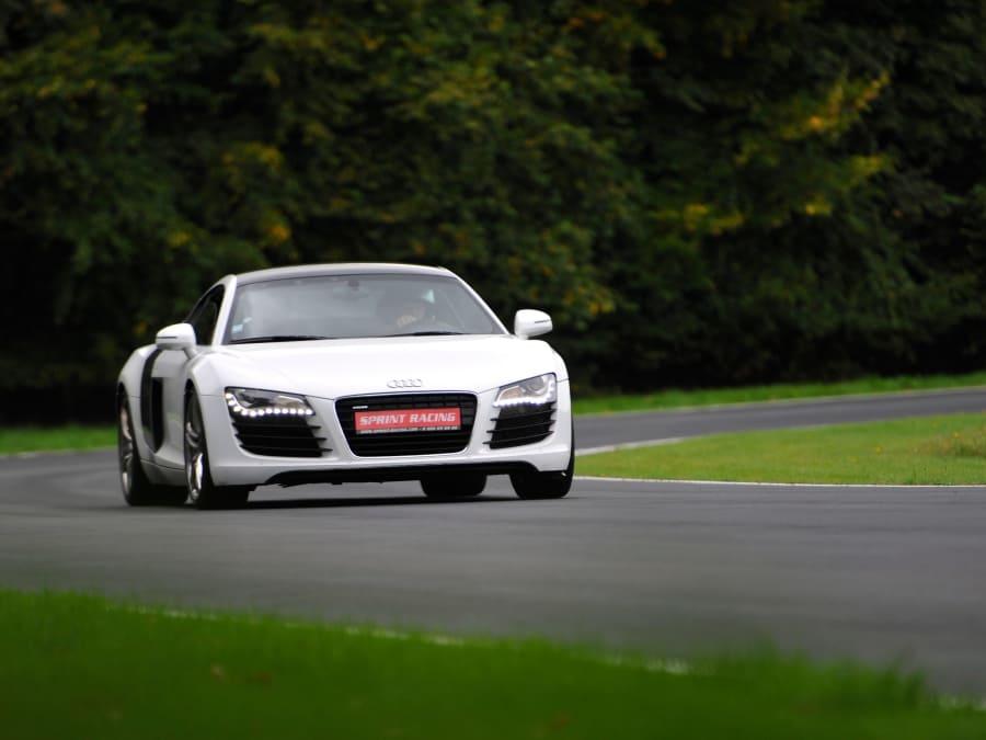 Stage de pilotage en Audi R8 - Circuit de Pont l'Evêque (14)