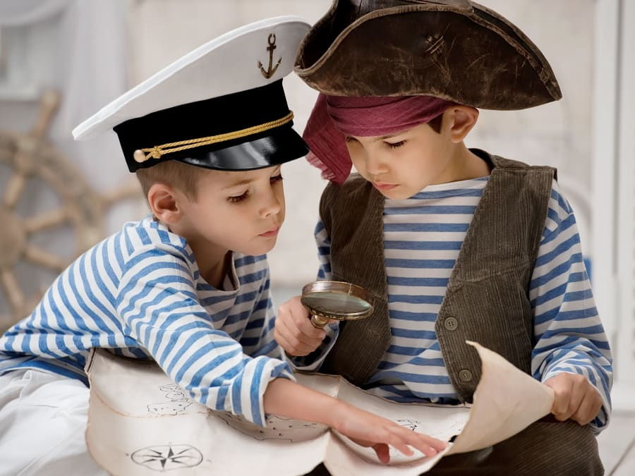 Anniversaire l'Île aux Pirates 3-9 ans à domicile (IDF)