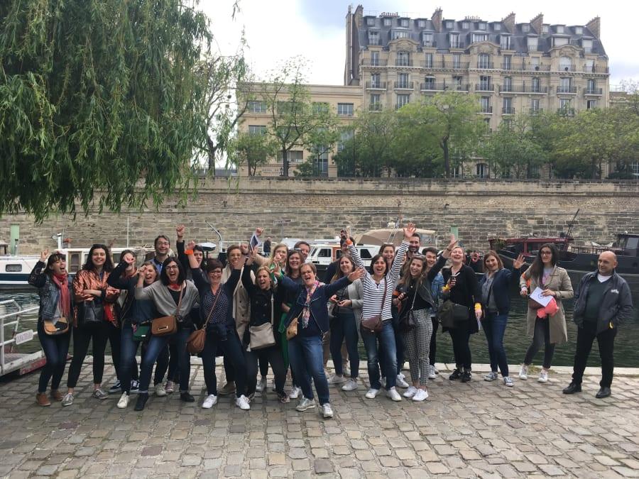 Team Building Géocaching dans le Marais