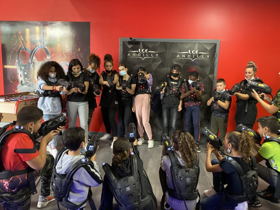 Anniversaire Laser Game 7-18 ans à Andilly (95)