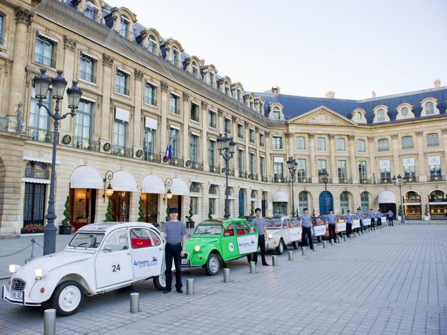 Team Building Rallye à Paris en 2CV