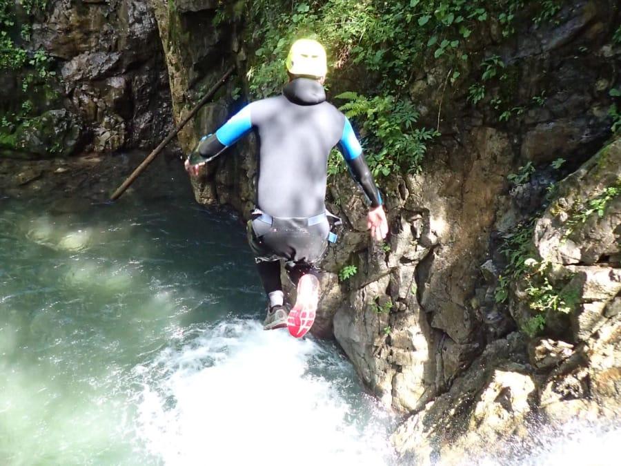Journée canyoning dans la Vallée d'Ossau (64)