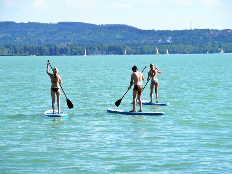 Stand Up Paddle à Villefranche-sur-mer près de Nice (06)