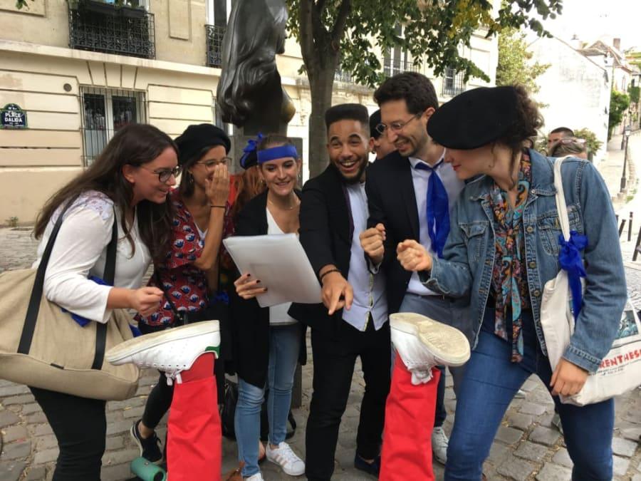 Team Building Insolite Super Frenchy à Montmartre