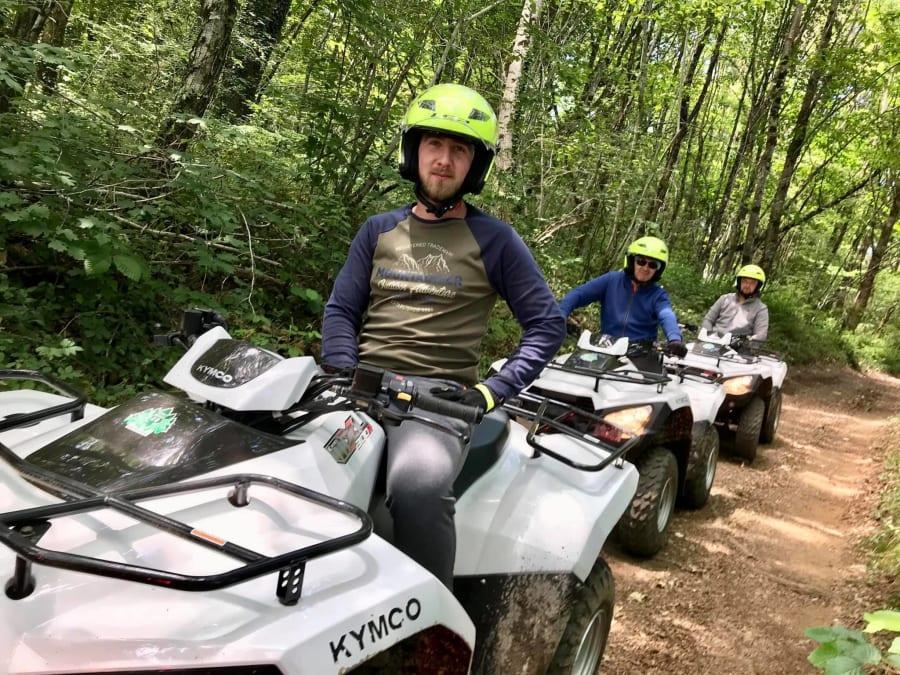Randonnée Quad près de Brive-la-Gaillarde (19)
