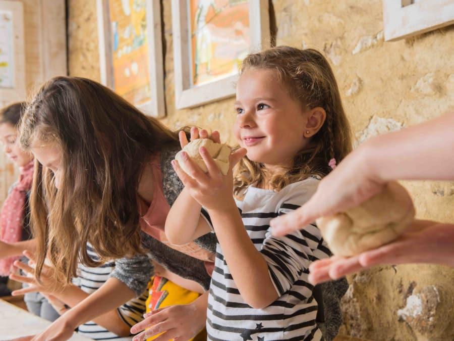 Atelier du pain & animaux de la Ferme de Gally (St-Cyr-l'Ecole)