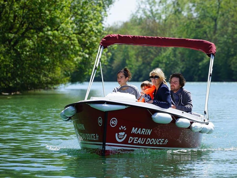 Location de bateau électrique à Meaux