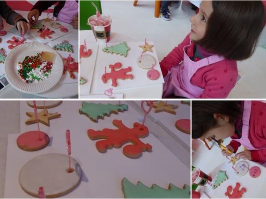 Atelier Créatif ou Pâtisserie de Noël en Ile-de-France
