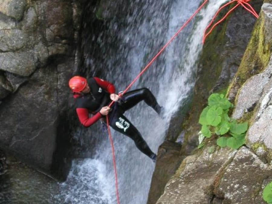 Canyoning dans les Gorges du Tapoul