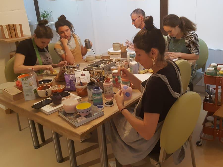 Atelier découverte de la Céramique à Paris 11ème