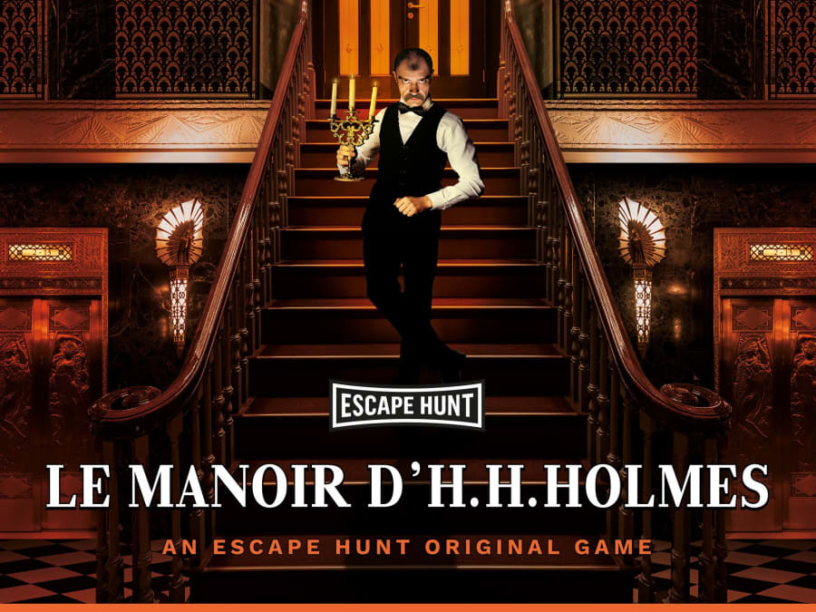 "Escape Game ""Le Manoir Holmes"" à Bordeaux (33)"