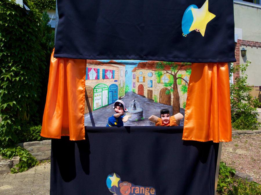 Anniversaire Magie et Marionnettes 3-10 ans à domicile