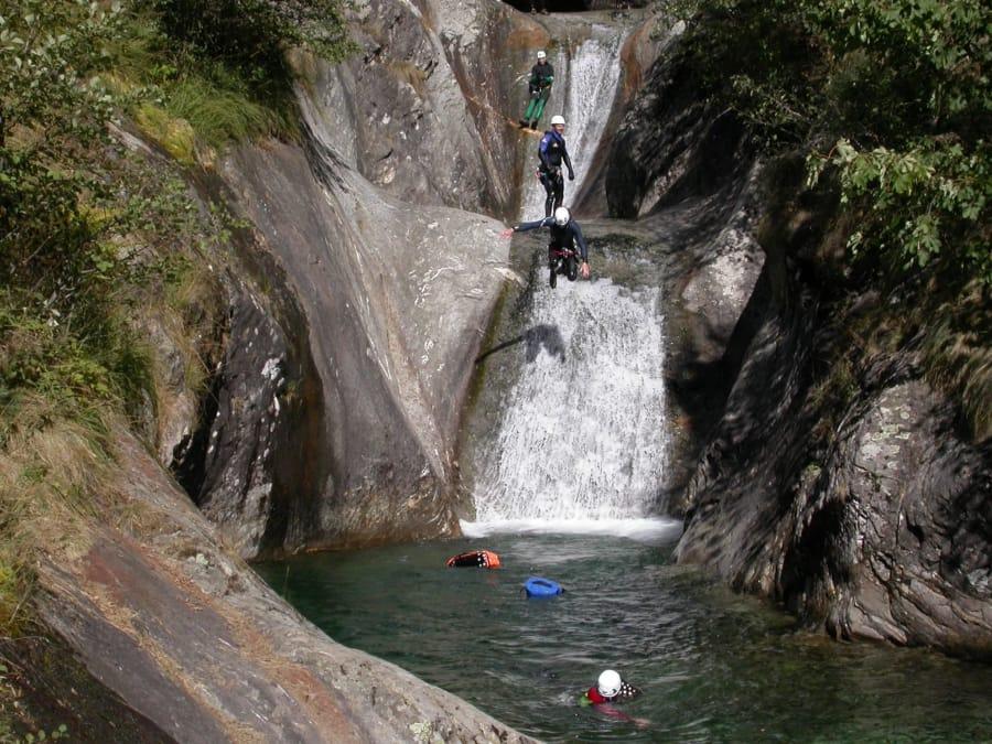 Canyoning au Canyon de Bellevaux (Haute Savoie - 74)