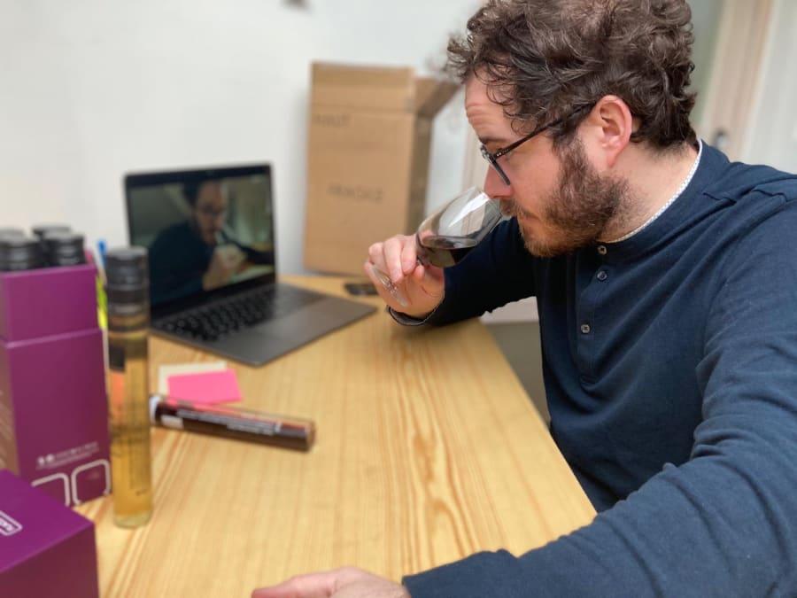 Team Building en ligne Dégustation Œnologique avec un Sommelier