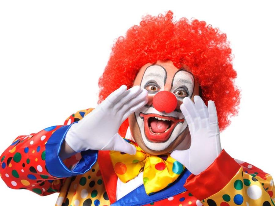 Anniversaire Clown 3-12 ans en Ligne