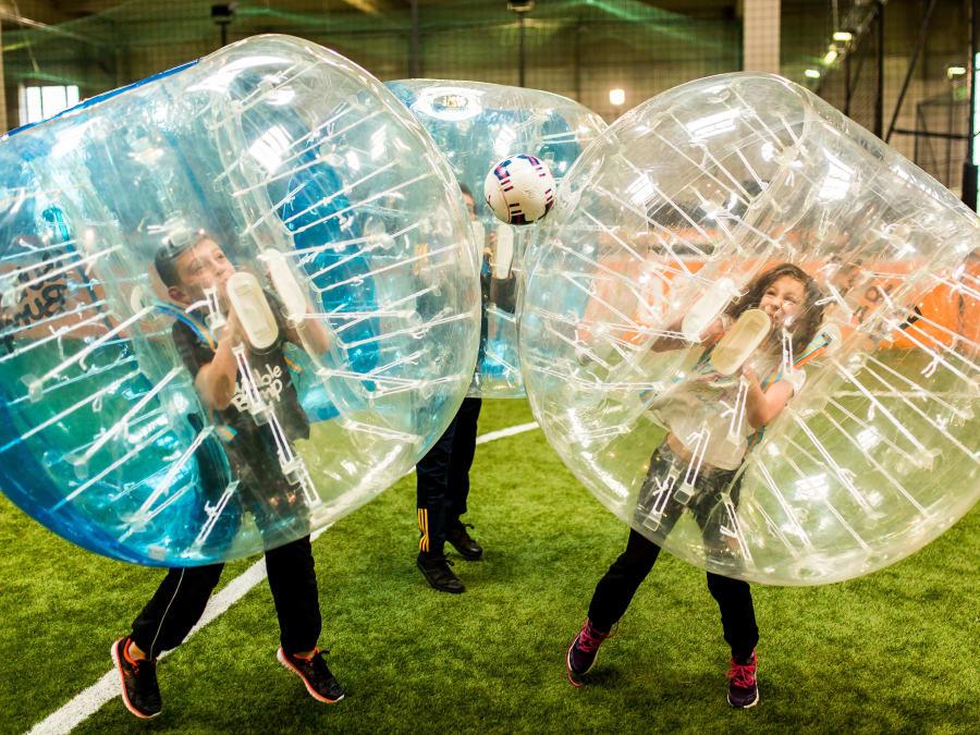 Anniversaire Bubble Foot 7-15 ans à Toulouse Montaudran