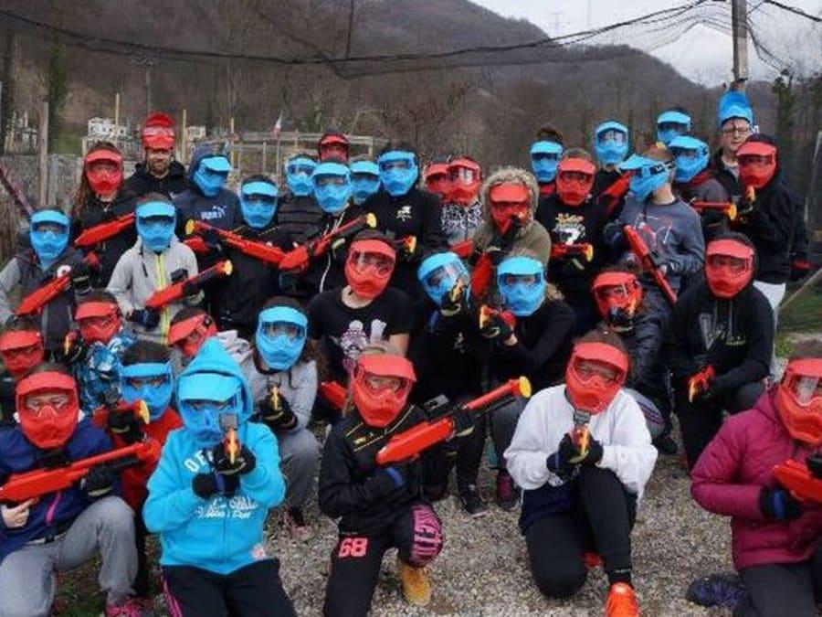 Anniversaire Paintball dès 6 ans proche Grenoble à Vizille (38)