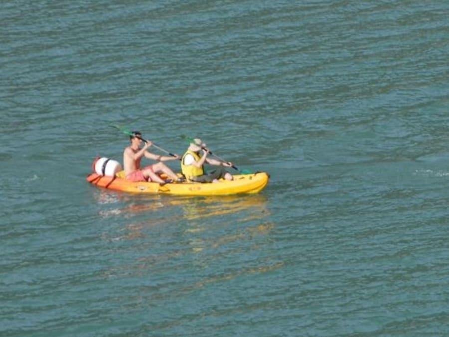 Location de kayak au lac du Monteynard (38)