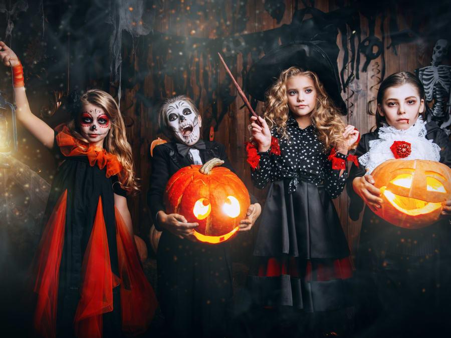 Anniversaire Halloween dans un château d'exception à Seine-Port