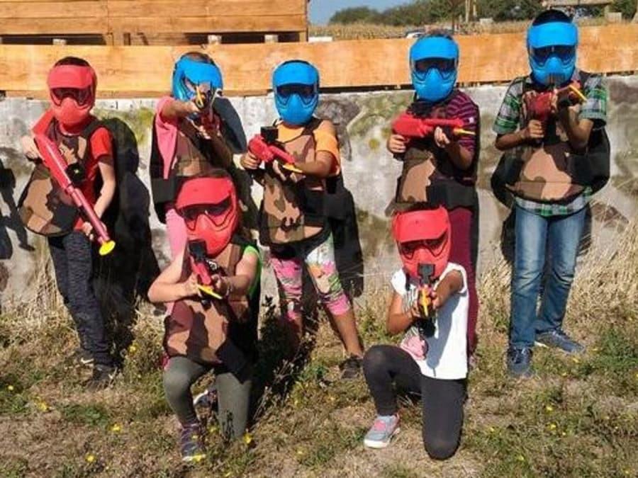 Anniversaire Paintball 7-13 ans près de Valence à Alixan (26)