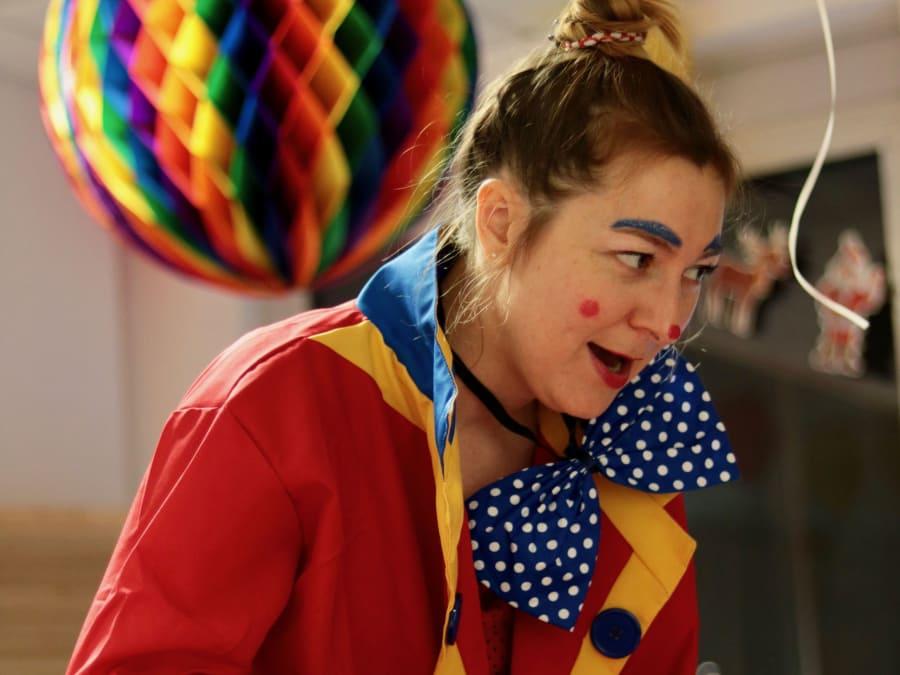 Anniversaire Clown 3-8 ans à domicile (IDF)