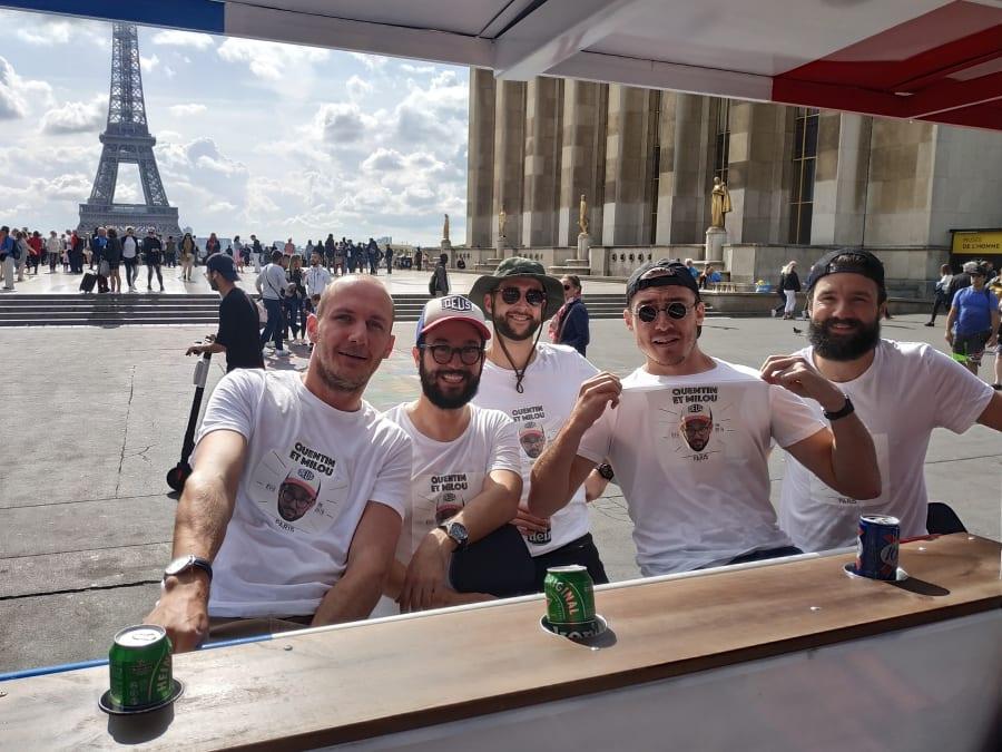 Balade en Beer Bike à Paris (75)