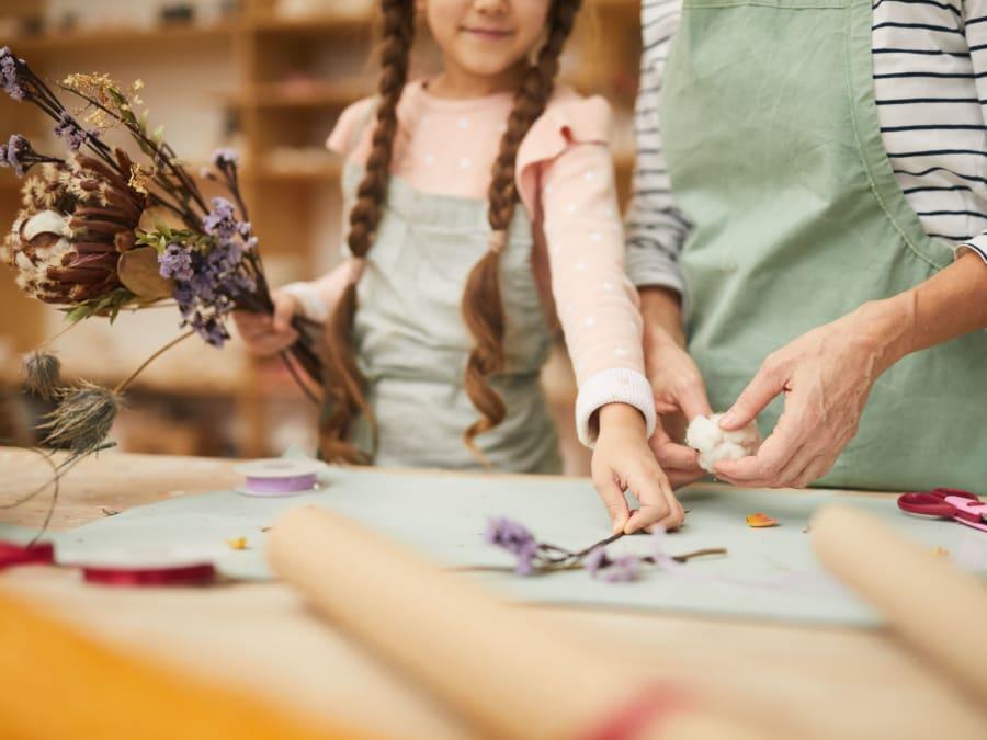 Anniversaire Atelier Jardinage 5-9 ans à domicile (IDF)