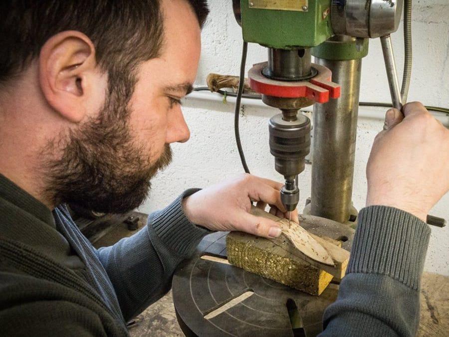 Atelier Fabrication de couteau à Saint-Sulpice (53)