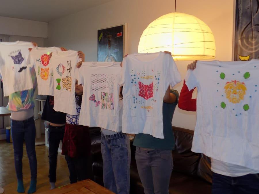 Anniversaire Customisation de T-shirt 6-14 ans à domicile (IDF)
