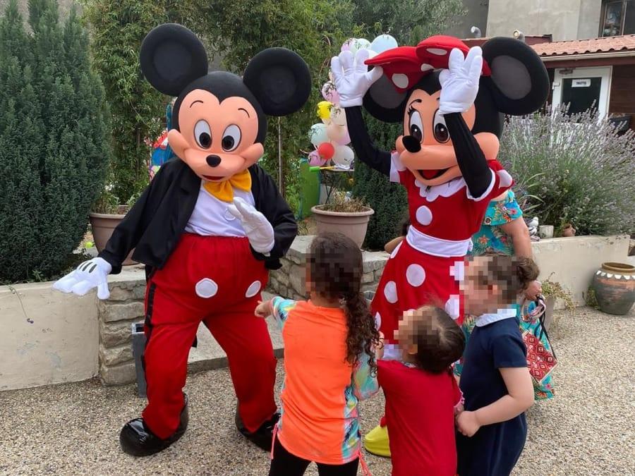 Anniversaire Show de Mascotte Mickey partout en France