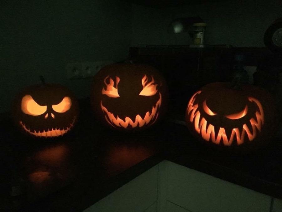 Ateliers citrouilles Halloween à la cueillette de Peltre
