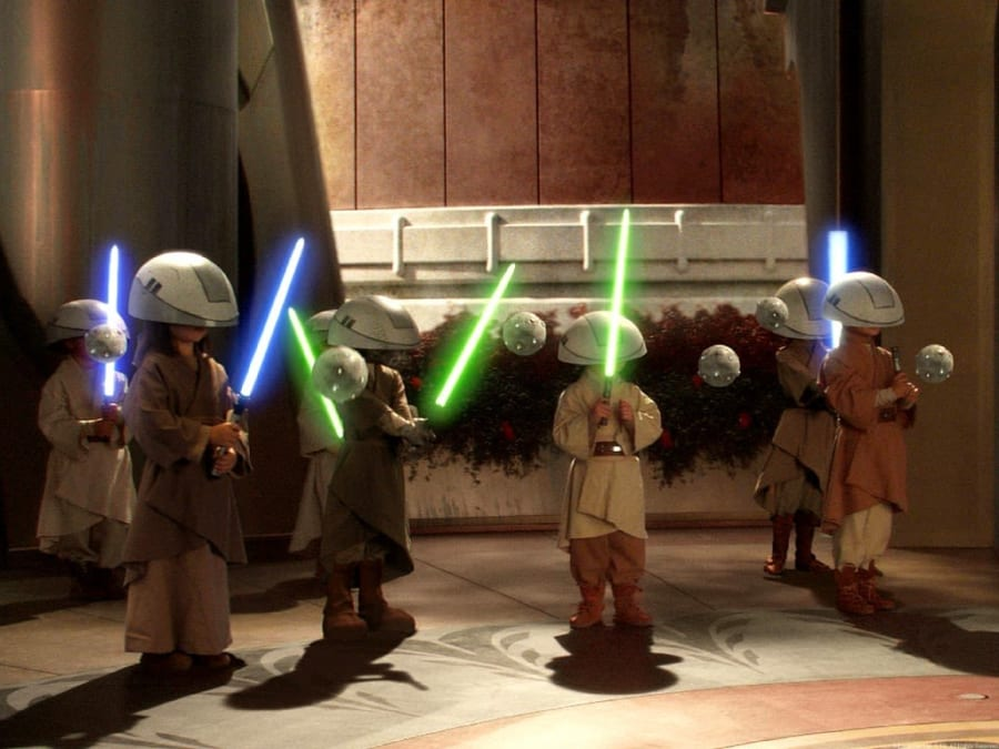 Anniversaire L'Ecole des Jedis 6-9 ans à domicile (IDF)