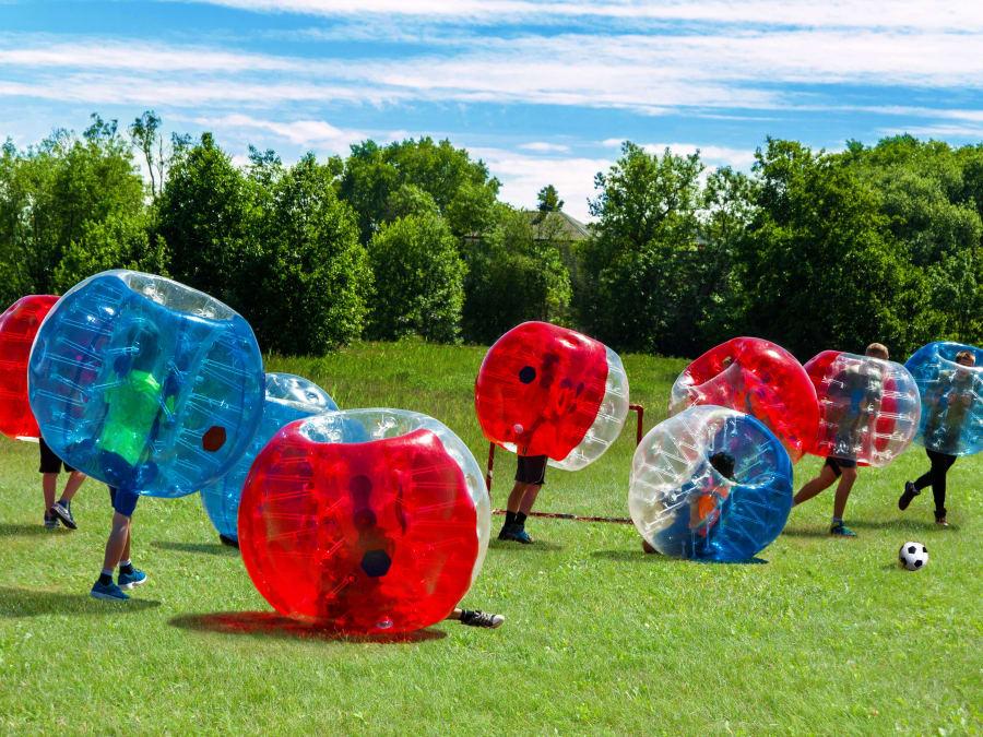 Anniversaire Bubble Foot extérieur 8-15 ans proche de Lille