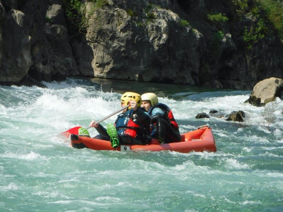 Team Building Rafting dans les Gorges de l'Hérault