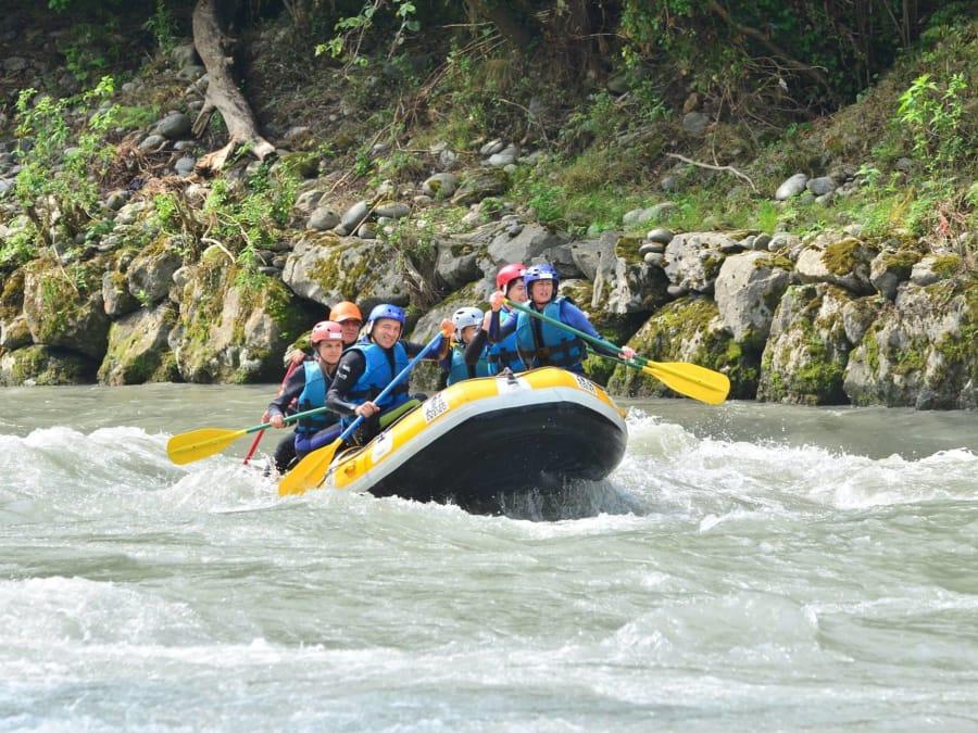 Rafting à côté de Lourdes (Saint-Pé-de-Bigorre, 65)