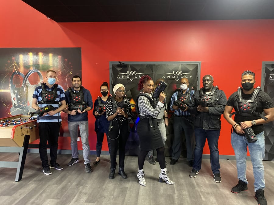 Laser Game à Andilly (95)