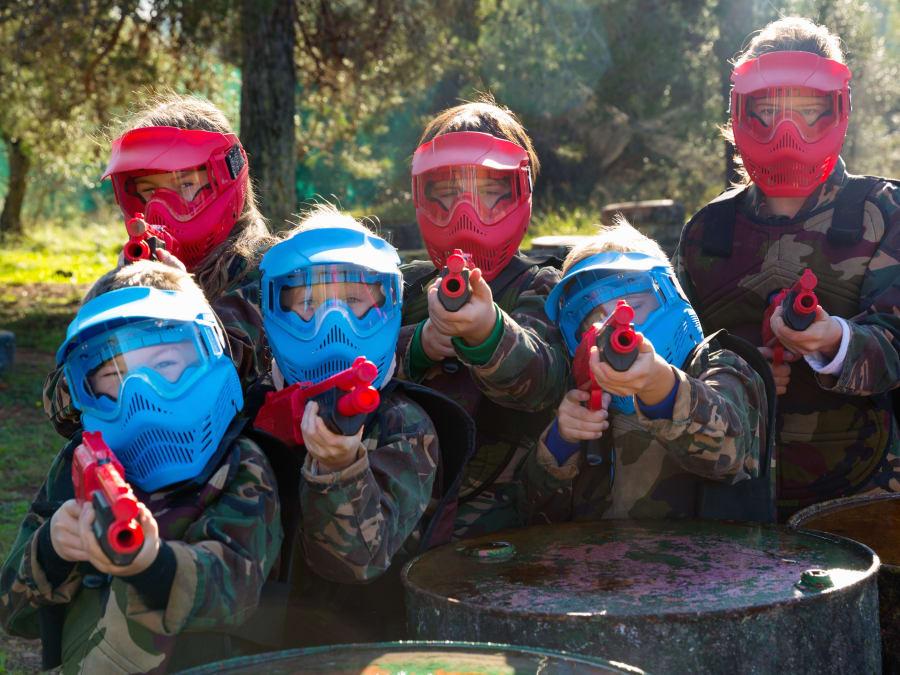 Paintball enfant 7-12 ans à Niévroz proche de Lyon (01)