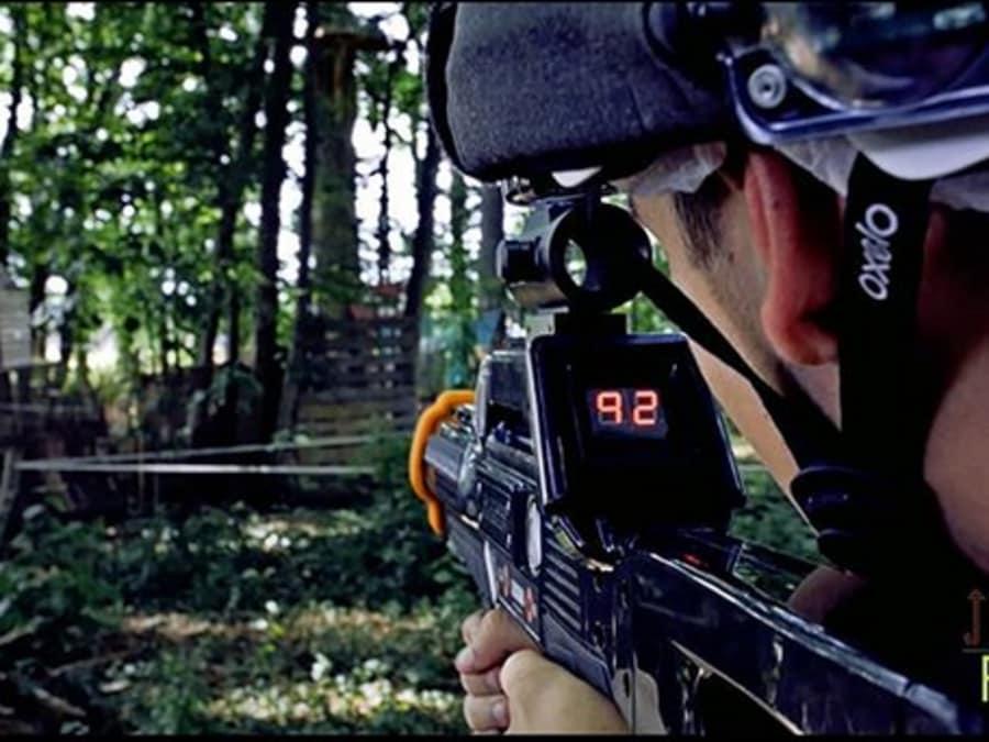 Anniversaire Laser Game Outdoor 6-16 ans à Montereau (77)