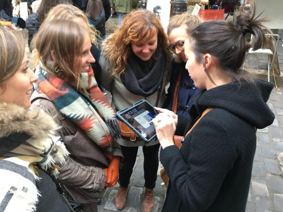 Team Building Team in the City dans le Marais