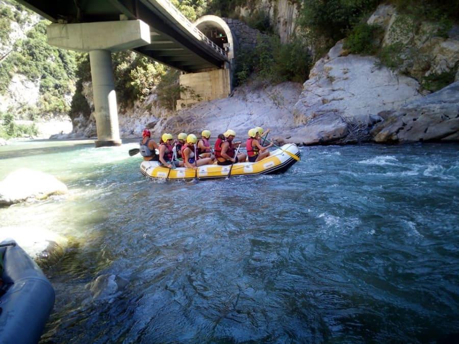 Journée Rafting sur la Roya près de Nice (06)