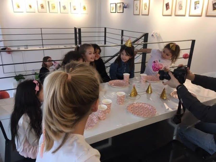 Anniversaire Atelier Créatif au choix 4-14 ans à Boulogne (92)